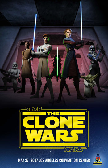 Star wars the clone wars star wars clone wars poster